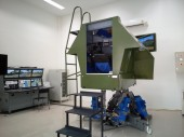 Motion simulators for the training of APC BTR-3E1 crews
